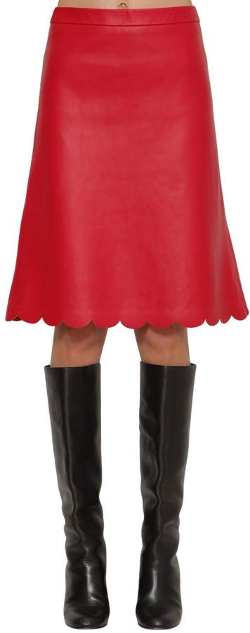 db1ca6666f Red Valentino Skirt Scallop - ShopStyle
