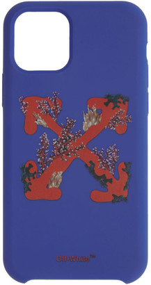 Off-White Blue Corals Arrows iPhone 11 Pro Case