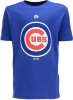 Majestic MajesticChicago Cubs Primary Logo T-Shirt