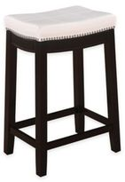Claridge Patches 24-Inch Counter Stool in White