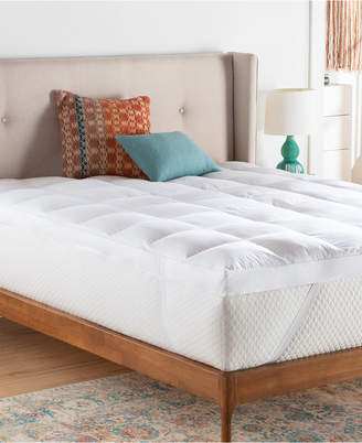 "Linenspa Signature Collection 3"" Down Alternative Fiber Bed Mattress Topper, California King"