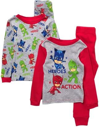 AME Hero Print Cotton Pajama Set - Set of 2