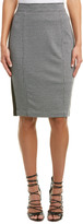NYDJ Jacquard & Ponte Pencil Skirt