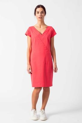 SKFK - Organic Cotton Dress Uguzne - 34 | organic cotton | strawberry pink
