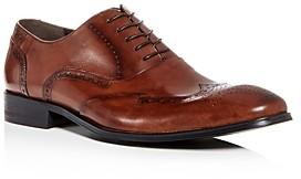 Kenneth Cole Men's Brant Leather Wingtip Oxfords