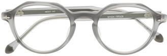 Matsuda Round-Frame Translucent Glasses