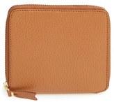 Comme des Garcons Men's Leather Wallet - Brown