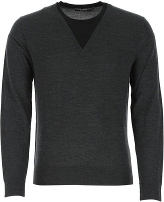 Dolce & Gabbana Layered V-Neck Sweater