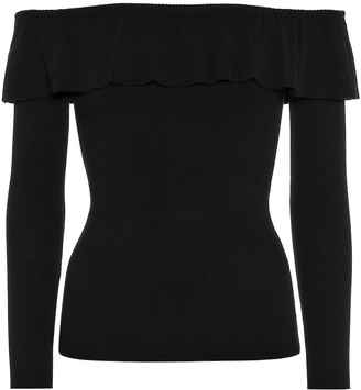 RED Valentino Off-the-shoulder top
