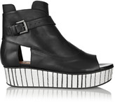 Thakoon Addition Sky 2 leather platform sandals