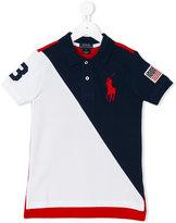 Ralph Lauren blockcolour polo shirt - kids - Cotton - 4 yrs