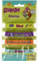 Amscan Scooby Doo Rubber Bracelet Favors (4 Pack)