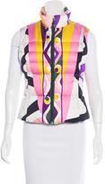 Emilio Pucci Geo-Print Puffer Vest