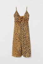 H&M Satin Dress with Ties