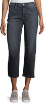 7 For All Mankind Kiki Wide-Leg Ankle Jeans w/ Shadow Side Seam