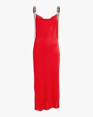 Christopher Kane Cowl Neck Jersey Dress