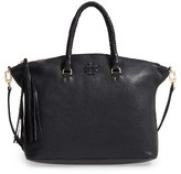Tory Burch Taylor Leather Satchel - Black