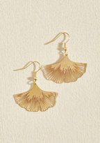 ModCloth Ginkgo a Long Way Earrings