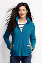 Classic Women's Tall Polartec Aircore 200 Fleece Jacket-Teal Waters