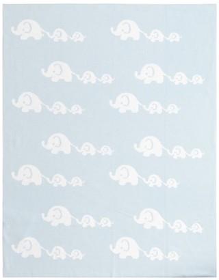 Kissy Kissy Cotton Elephant Blanket