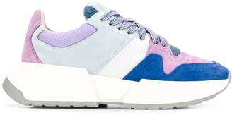 MM6 MAISON MARGIELA colour block sneakers