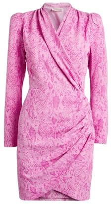 Stine Goya Snake Print Clem Mini Dress