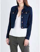 J Brand Fashion Harlow shrunken denim jacket