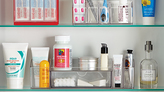 Container Store LinusTM Cabinet Organizer w/ Drawer Clear