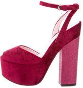 Giamba Platform Ankle Strap Sandals w/ Tags