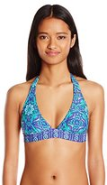 O'Neill Women's Majestic Wide Band Halter Bikini Top