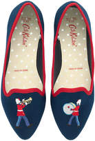 Cath Kidston Marching Band Embroidered Pumps