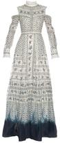 Erdem Sabine Hill Garden-print gown