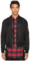 Mostly Heard Rarely Seen Nylon Parachute Bomber Jacket Men's Coat
