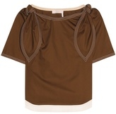 Chloé Embellished cotton top