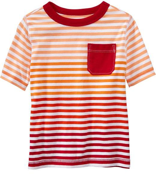 Old Navy Striped Pocket Tees for Baby