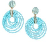 BaubleBar Women's Clover Drop Earrings