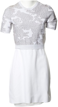 Louis Vuitton White Synthetic Dresses