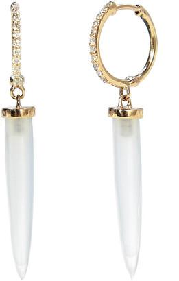 Bondeye Jewelry Aphrodite Chalcedony Earrings