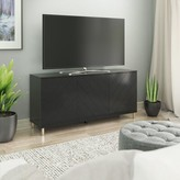 "Myndi 59.5"" Wide Sideboard Wrought Studio Color: Black"
