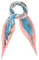Hermes La Vie Precieuse de la Mediterranee Silk Plissé Scarf