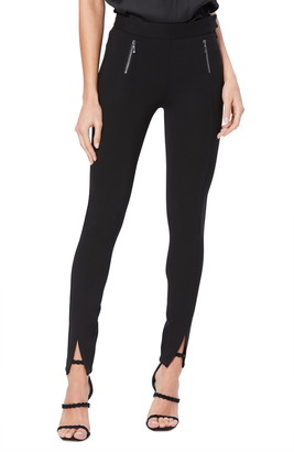 Paige Talita Zip Detail Slim Ponte Pants