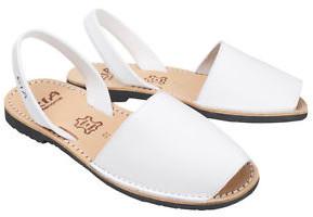 riA Sandal - 41 / weiss / Leder