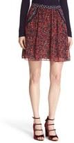 Diane von Furstenberg Women's 'Marisa' Print Silk Skirt