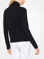 Michael Kors Fringed Cashmere Pullover