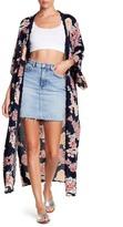 Angie Floral Maxi Kimono