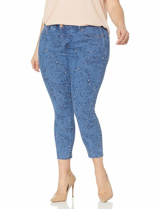 Jessica Simpson Women's Size Adored Curvy High Rise Ankle Skinny