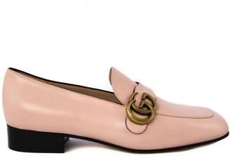 Gucci Pink Leather Loafer