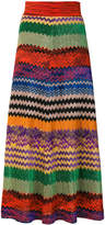Missoni patterned mid-calf skirt