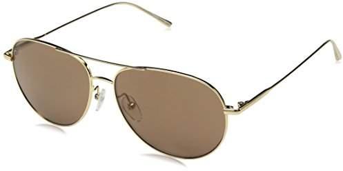 b4cd0f84b086 Calvin Klein Gold Men's Sunglasses - ShopStyle