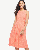Ann Taylor Eyelet Swirl Midi Dress
